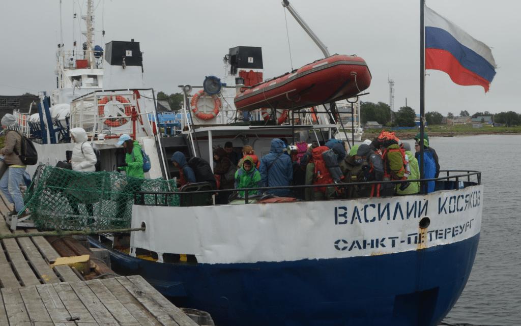 2 Stunden Überfahrt auf die Solovki-Inseln