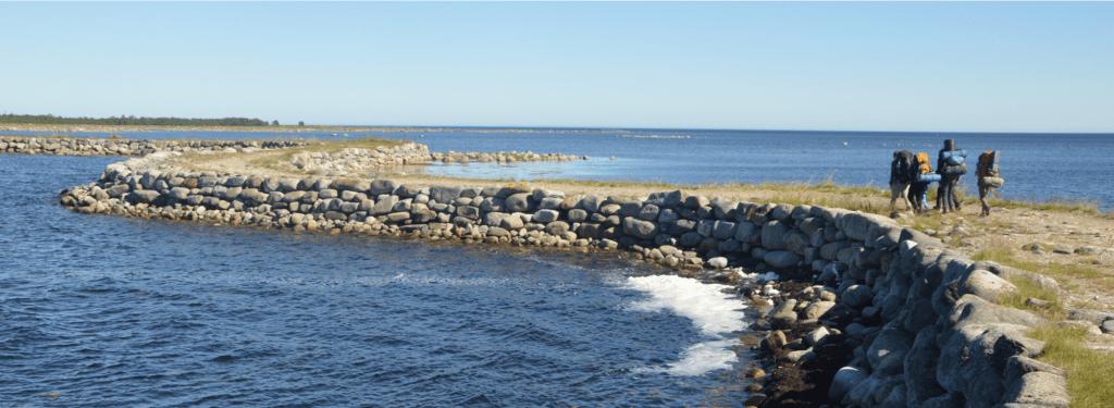 Ankunft am Weißen Meer auf dem einsamen Solovki-Inselarchipel